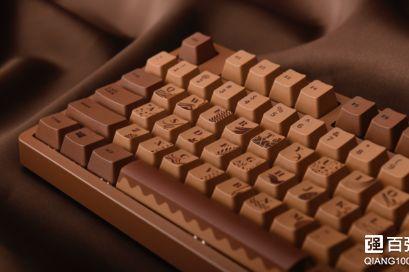 黑爵推出104键机械键盘Chocolate Cubes:4色Cherry轴-1