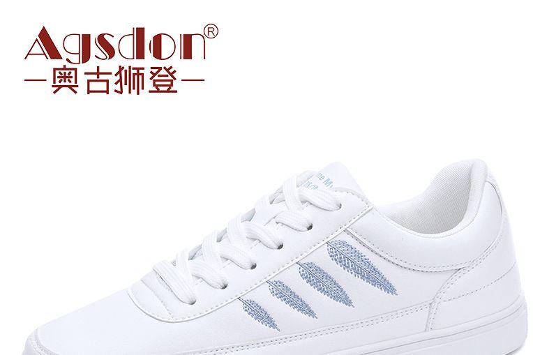 """国民闺女关晓彤代言的奥古狮登小白鞋""""火""""了,这几款最好看-3"""