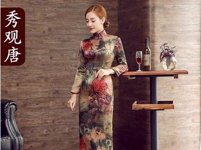 美人在骨不在,推荐几款好看的旗袍-1
