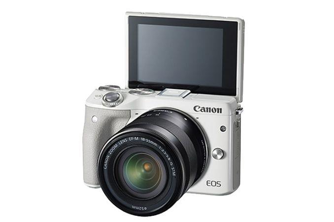 佳能微单相机哪款好?佳能M3 白色微单相机怎么样?-1