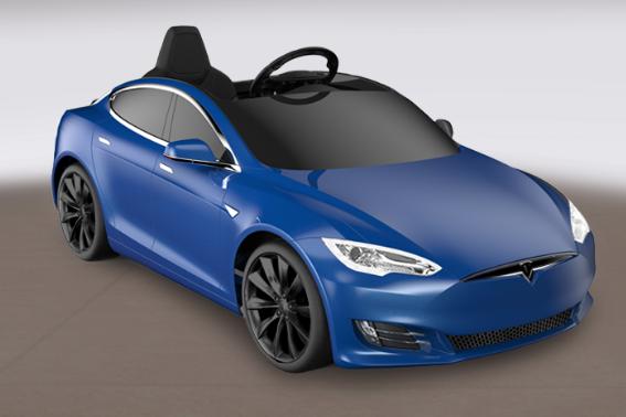 特斯拉儿童车在哪订购?Tesla 特斯拉 Model S 儿童电动车优缺点-1