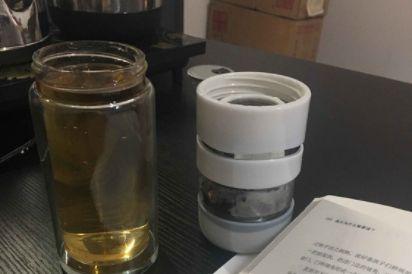 花间道茶水分离保温杯好用吗?材质如何?-1