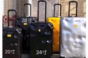 CRASH行李箱有预防性破坏的加工?价格多少?-1