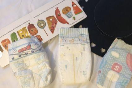 大王光羽、好奇心钻和帮宝适纸尿裤测评?-1