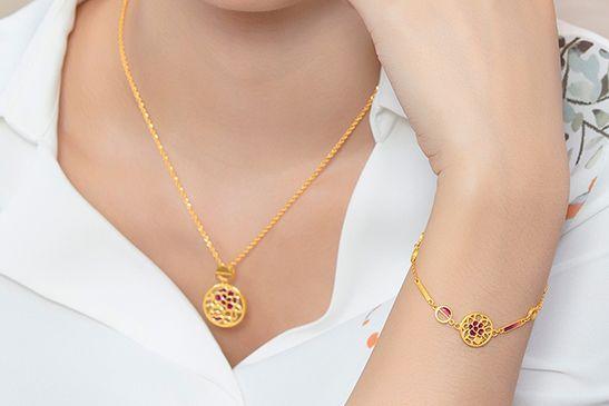 六福珠宝手链款式图片?六福好看的手链推荐?-1