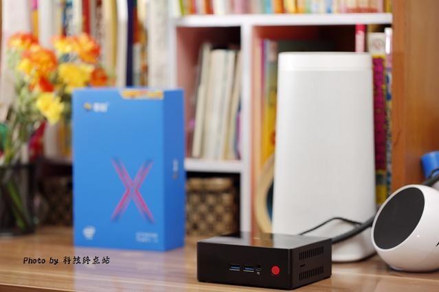 很惊奇:比电视盒子还要小的电脑性能这么给力,零刻EQ55-1