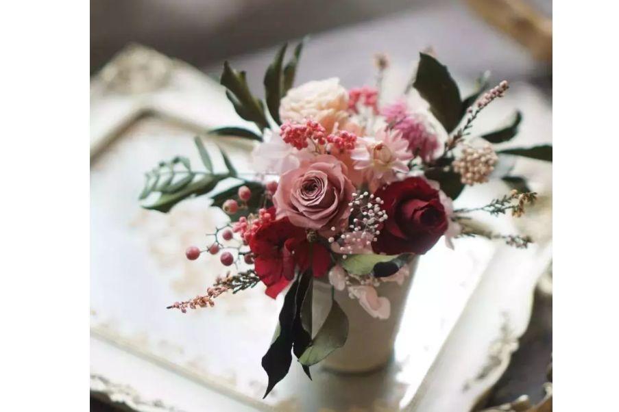 永生花就是干花吗?永生花和干花之间的区别-3