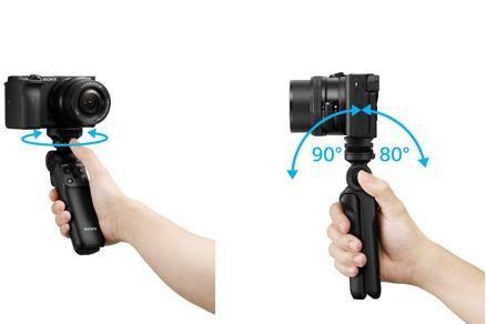 索尼首款无线蓝牙拍摄手柄GP-VPT2BT正式发布:可快速旋转调整-1