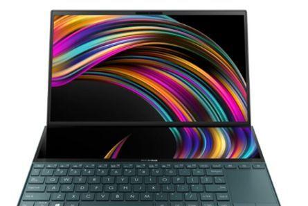 华硕推出灵耀X2 Duo笔记本i5版:配备第二块全屏ScreenPad Plus-2