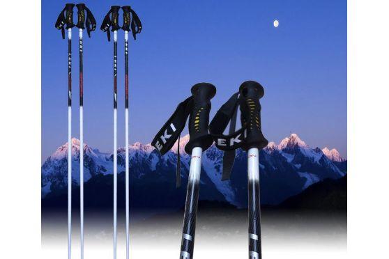 滑雪的基本要领是什么?滑雪杖应符合选择-2