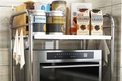 厨房置物架怎么选 厨房置物架材质哪种好-3