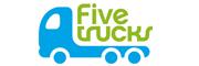 五个小卡车婴儿湿巾