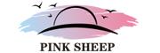 粉色绵羊遮阳帽