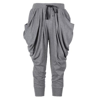 哈伦裤九分裤