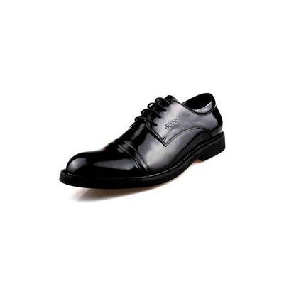 三接头皮鞋